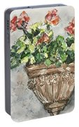 Tuscan Floral Portable Battery Charger