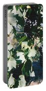 Tuscan Grapes Photograph Portable Battery Charger
