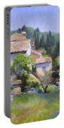 Tuscan  Hilltop Village Portable Battery Charger