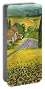 Tuscan Italy Portable Battery Charger