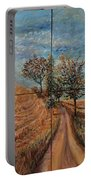 Tuscan Journey Portable Battery Charger by Nadine Rippelmeyer