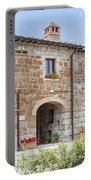 Tuscan Old Stone Building Portable Battery Charger