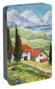 Tuscan Villas Portable Battery Charger