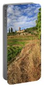 Tuscan Vineyard And Grapes Portable Battery Charger