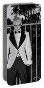 Tuxedo Vampire Portable Battery Charger