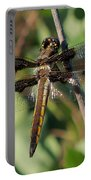 Twelve Spotted Skimmer Dragonfly Portable Battery Charger