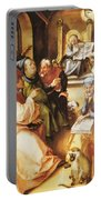 Twelve Year Old Jesus In The Temple 1497 Portable Battery Charger