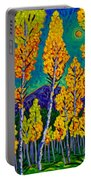 Twilight Aspens Portable Battery Charger