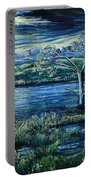 Twilight At The River Portable Battery Charger
