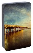Twilight Biloxi Bridge Portable Battery Charger