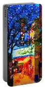 Twilight In Doylestown Borough Portable Battery Charger