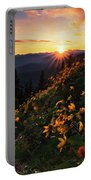 Twilight Of The Balsamroot Portable Battery Charger