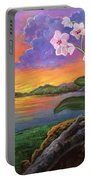 Twilight Orchids Portable Battery Charger