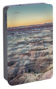 Twilight Over The Painted Desert Portable Battery Charger