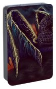 Twilight Storm Dragon Portable Battery Charger