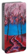 Twilight Woods Portable Battery Charger