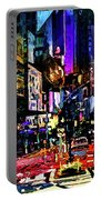 Twilight Zone Hustle Bustle Portable Battery Charger