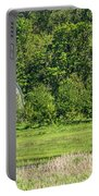 Twin Barns In Spring Portable Battery Charger