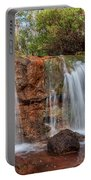 Twin Falls At Ironstone Gully Portable Battery Charger