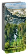 Twin Lakes Waterfall Portable Battery Charger