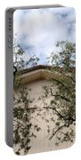 Twin Trees Framing Church Building Portable Battery Charger