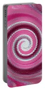 Twirl Pink  Portable Battery Charger