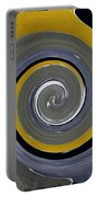 Twirl Yellow  Portable Battery Charger