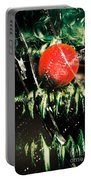 Twisted Evil Clown Portrait Portable Battery Charger