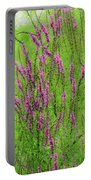 Twisty Flowers Portable Battery Charger