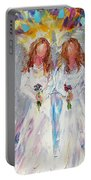 Two Angels Portable Battery Charger
