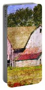 Two Barns And A Silo Portable Battery Charger