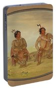 Two Choctaw Indians Portable Battery Charger
