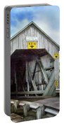 Two Covered Bridges Of St. Martins Portable Battery Charger