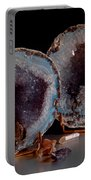 Two Geodes Portable Battery Charger