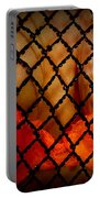 Two Handfuls Of Oranges Portable Battery Charger