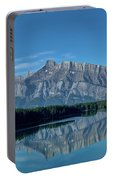 Two Jack Lake In The Morning Portable Battery Charger