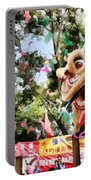 Two Lions Dancing  Portable Battery Charger