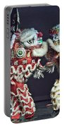 Two Lions Kung Fu Club Portable Battery Charger