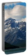 Two Medicine Lake And Rising Wolf Mountain Portable Battery Charger