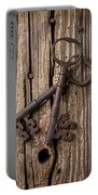 Two Old Skeletons Keys Portable Battery Charger