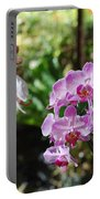 Two Orchid Branches Number One Portable Battery Charger