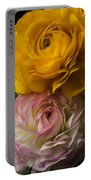 Two Ranunculus Portable Battery Charger