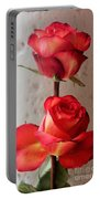Two Roses  Portable Battery Charger