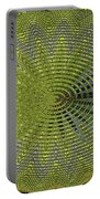 Two Saguaro Abstract #4496w3 Portable Battery Charger