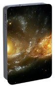 Two Spiral Galaxies Portable Battery Charger