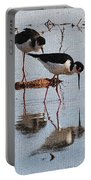 Two Stilts Walk The Pond Portable Battery Charger