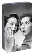 Two Women Gossiping, C.1950-60s Portable Battery Charger