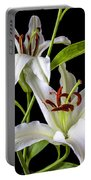 Two Wonderful Lilies  Portable Battery Charger