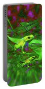 Two Yellow Frogs Portable Battery Charger