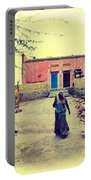 Typical House India Rajasthani Village 1j Portable Battery Charger